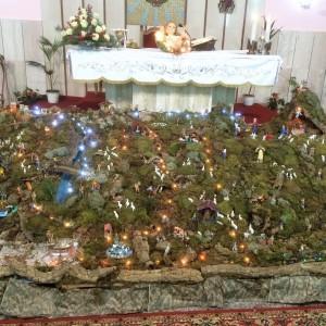 Presepe ai piedi dell'Altare
