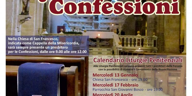 Locandina Liturgie Penitentiali