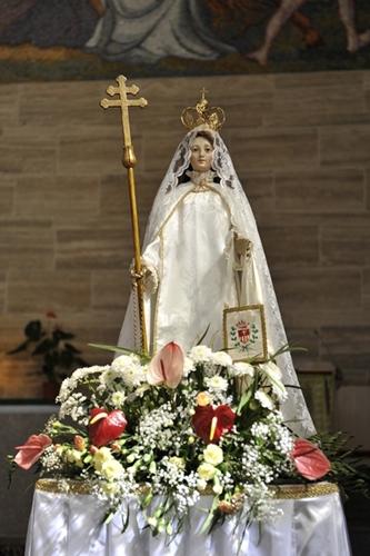 Antico simulacro Madonna Mercede