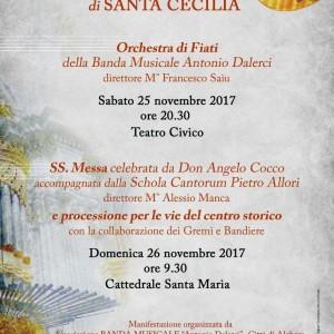 Locandina Santa Cecilia
