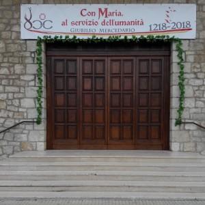 Porta Santa Chiesa N.S. della Mercede_in occasione del Giubileo Mercedario 2018