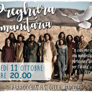 Preghiera Comunitaria_11 ottobre 2018